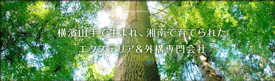 横濱山手で生まれ、湘南で育てられた